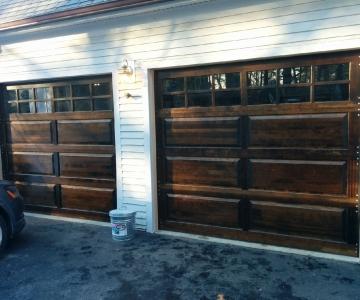 Model 310 Cedar u2013 True Stockton Divides & Our Past Jobs - Collins Overhead Door